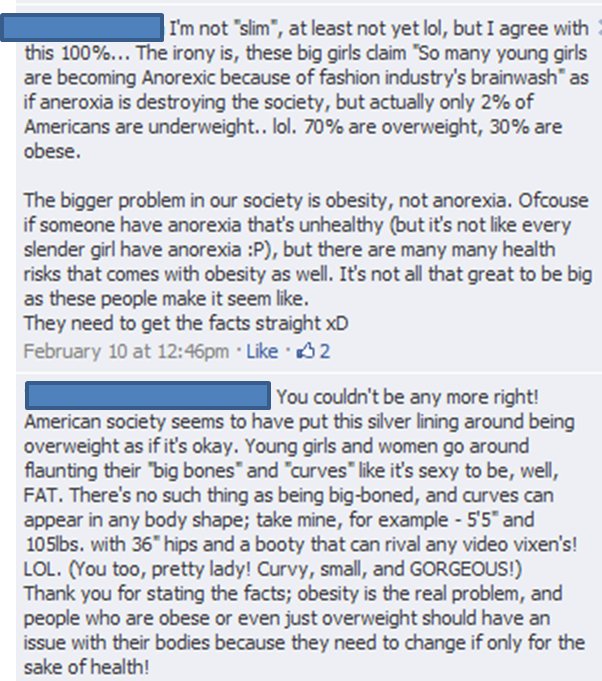 What I Take Issue With Is This Assumption That Triggers Women Starve Themselves To Be Thin Not Related At All Overeat